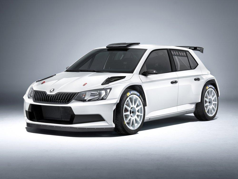Škoda Fabia R 5