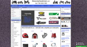 Náhradní díly na motocykly