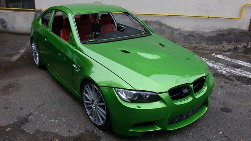 BMW M3 - nový lak