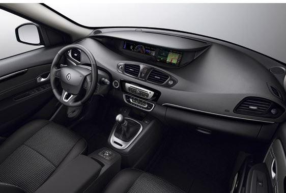 Renault Scénic - interiér