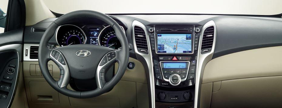 Hyundai i30 interiér