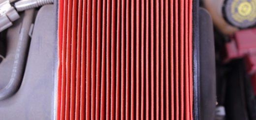 výměna vzduchového filtru
